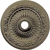 Ekena Millwork CM23BEGDF 23 OD x 3 ID x 1 1/8'' P Bellona Ceiling Medallion (fits Canopies up to 3 5/8''), Gobi Desert