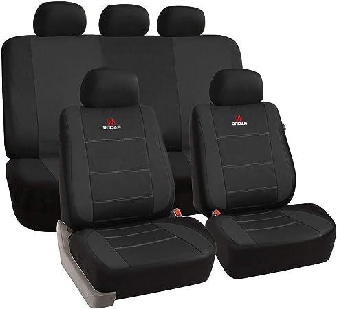 Esituro Universal Sitzbezüge Für Auto Schonbezug Schoner Komplettset Schwarz Scsc0111 Auto