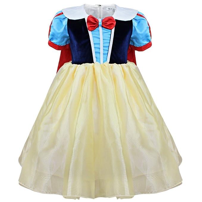 Freebily Disfraz de Princesa Fiesta para Niña Baile de Disfraces Traje de Ceremonia Vestido Cosplay Carnaval