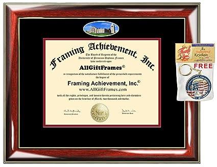 d2dab236fb5 Cornell University Diploma Frame School Campus Photo Custom Degree Double  Mat Certificate Framing Document Graduation Gift