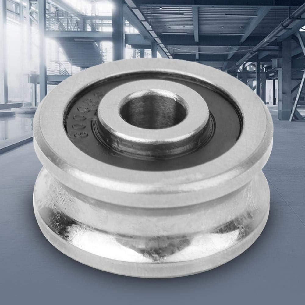 Roulement /à billes SG25 8 x 30 x 14 mm Roulement de guidage de rail en U Roulement chrom/é /à haute teneur en carbone