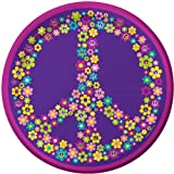 Creative Converting Groovy Girl Round Dessert Plates, 8 Count, Health Care Stuffs