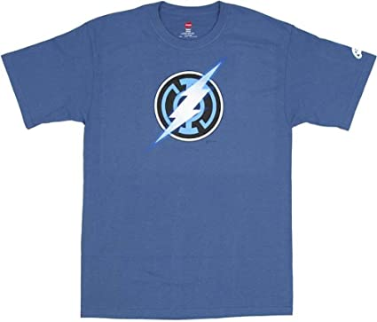 Amazon.com: BLUE LANTERN: FLASH SYMBOL T-Shirt (XXL): Novelty T ...