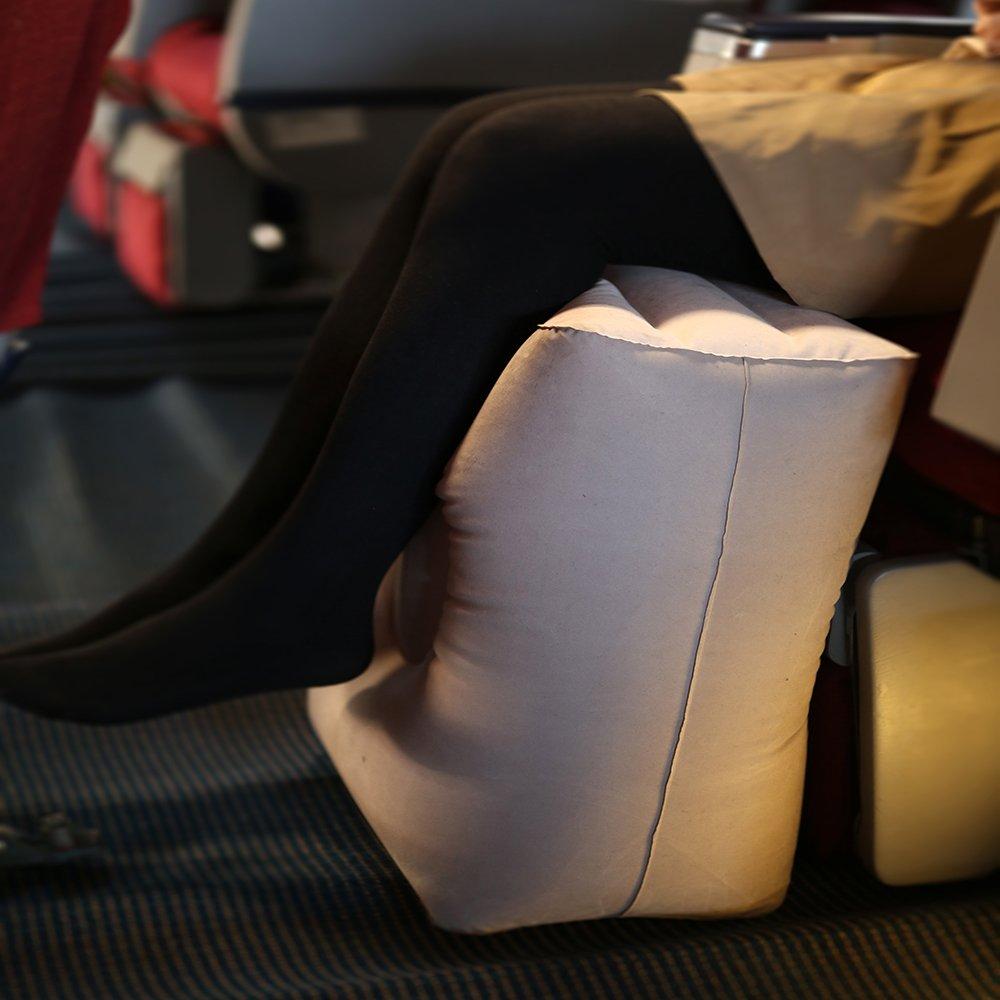 Almohada hinchable de viaje para descansar sus patas o niños ...