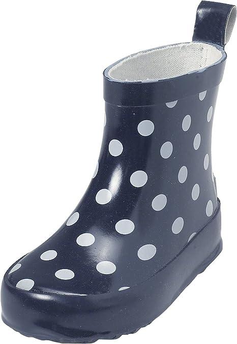 Playshoes Gummistiefel Punkte nieder 180358 - Botas para niños, color azul, talla 19