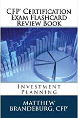 CFP Certification Exam Flashcard Review Book: Investment Planning (2019 Edition) Paperback