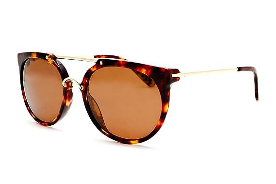 eaaea135e29 Image Unavailable. Image not available for. Colour  Wonderland Men s  Stateline Frame Lenses Round Sunglasses Brown