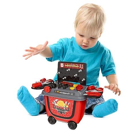 barbacoa juguete BBQ Ice Cream Cart Play Set Juego de estuches de barbacoa para niños pequeños