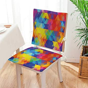 Amazon.com: Mikihome - Juego de cojines para silla ...