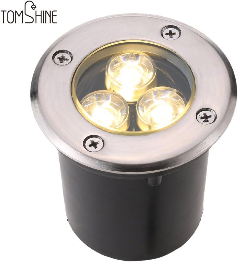 1x-10x Bodenleuchte Einbaustrahler Bodenstrahler GU10 LED IP67 3W Wegbeleuchtung