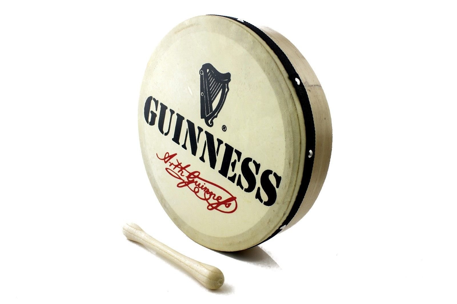 10'' ProKussion Guinness Bodhran and tipper / beater …