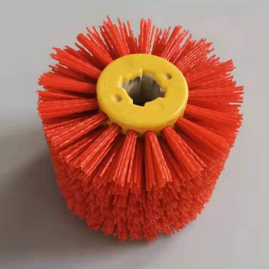 HomeDecTime Multifunktionale Winkelschleifer Polieren Poliermaschine Zubeh/ör Metall Stahl Holzschleifer Rot K/örnung 80
