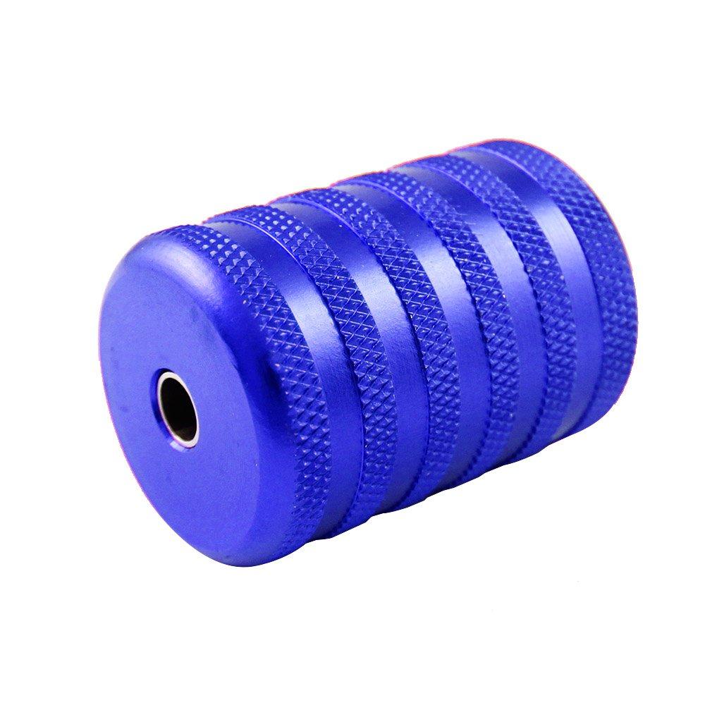 ITATOO® 35MM 1 1/2 Aluminum Tattoo Grip Tubes Thick (Blue)