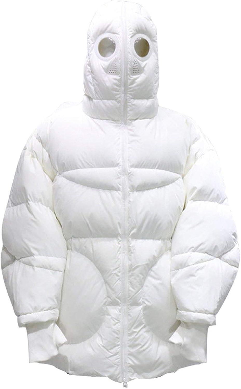 White Hooded Parka