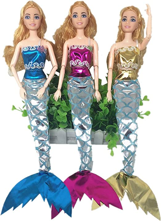 Juguetes para niños Navidad regalo Sea Princess ropa sirena ...