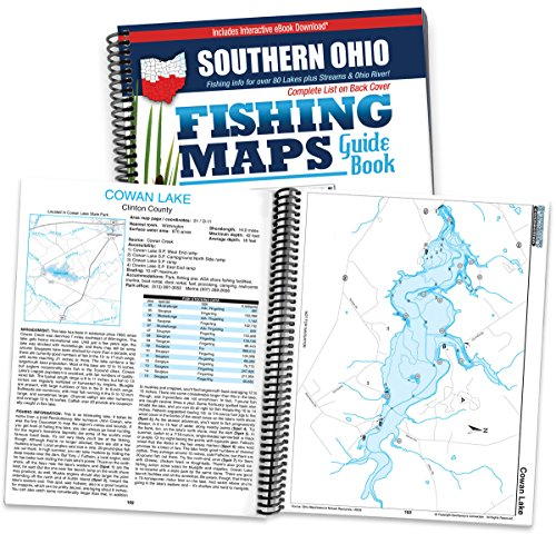Top 10 best fishing maps ohio best of 2018 reviews no for Best fishing in ohio