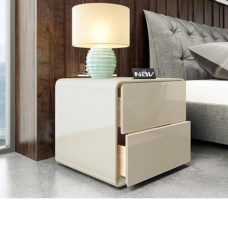Nordic xiandai nightstand Mini storage locker Bedside table Plate bedside  cabinet-A 50x45x47cm(20x18x19inch