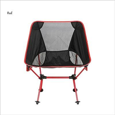 En Plein Air Chaise Pliante Portable Lune Chaise Directeur Chaise Aviation Aluminium Alliage Chaise De PêChe Camping Chaise De Plage