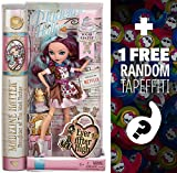 Madeline Hatter - Daughter of the Mad Hatter: Ever After High 'Sugar Coated' Doll + 1 FREE Official Monster High Mini-Tapeffiti Bundle