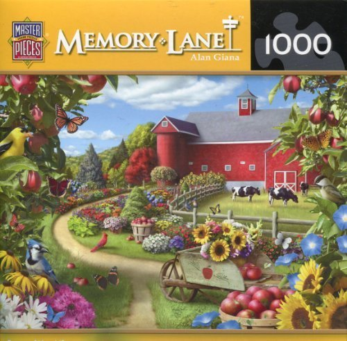 Masterpieces Memory Lane by Alan Giana 1000 Piece Jigsaw Puzzle by MasterPieces