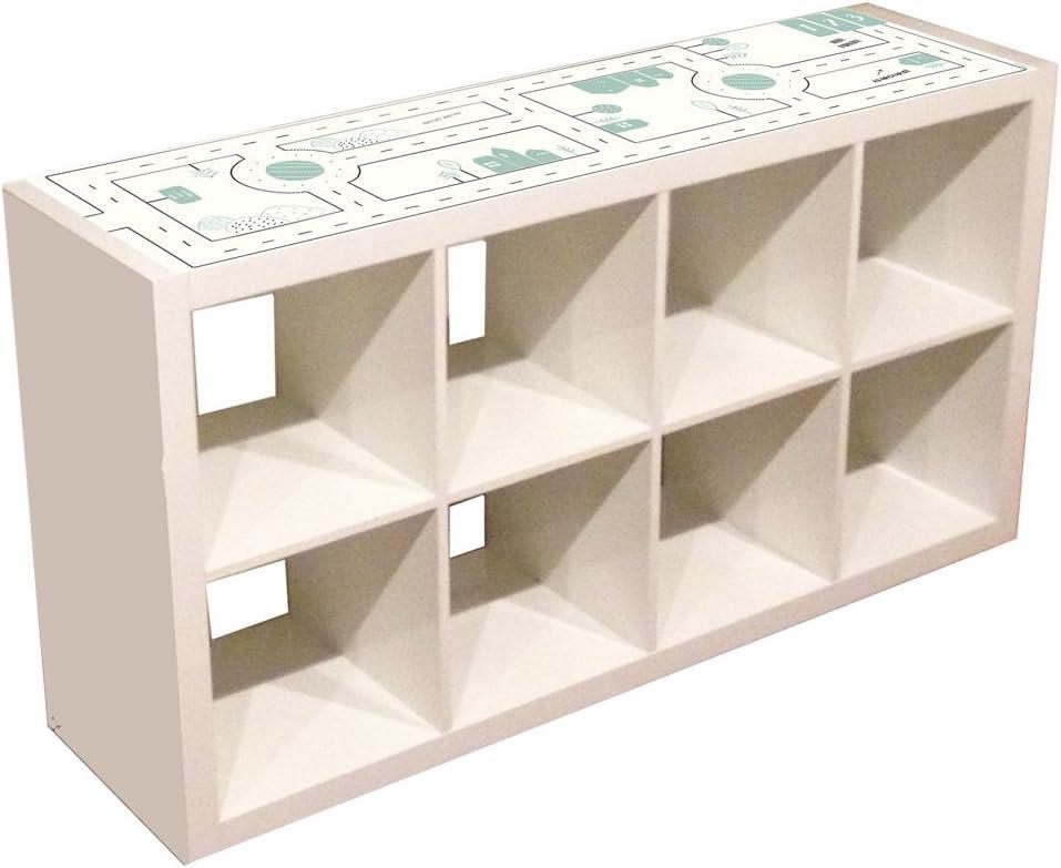Muebles decorativo para Calles – Apto para Ikea Kallax. 4 ...