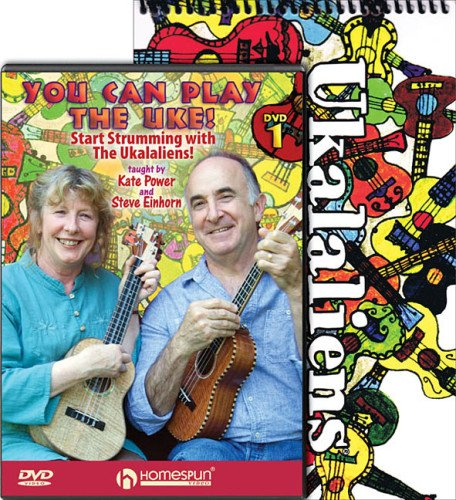 Read Online Ukalaliens Bundle Pack: Ukalaliens Sonbook (Book/CD) with You Can Play the Uke! (DVD) PDF