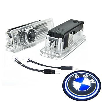 Amazon.com: BAILONGJU BMW Easy Installation Car Door LED Logo ...