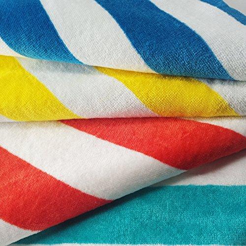 Exclusivo Mezcla Cabana Striped Towel - closeup