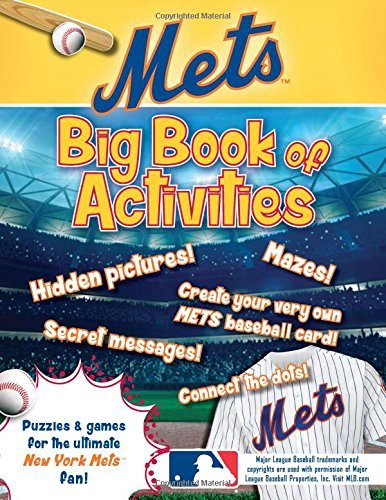 Peg Puzzle Book (New York Mets: The Big Book of Activities (Hawk's Nest Activity Books))