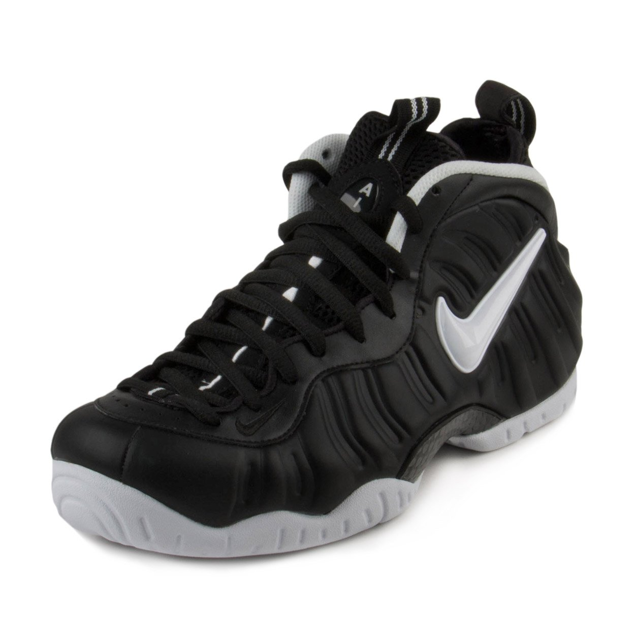 d74c1525d7f46 Galleon - NIKE AIR Foamposite PRO Mens Basketball-Shoes 624041-006 8.5 -  Black White