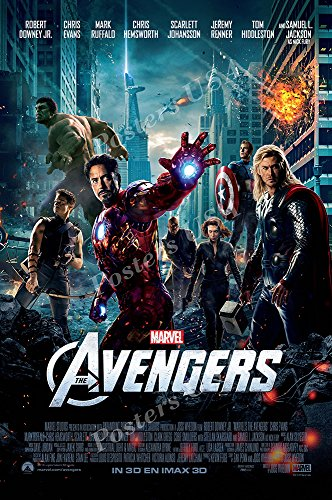 - Posters USA Marvel Avengers Movie Poster GLOSSY FINISH - FIL244 (24
