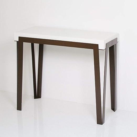 Itamoby Rio 90 cm Consola Extensible, Paneles de nobilitato ...