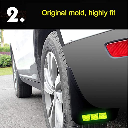 New 4x Front Rear Splash Guard Mud Flaps MudFlaps for Lincoln MKX 2016 L R