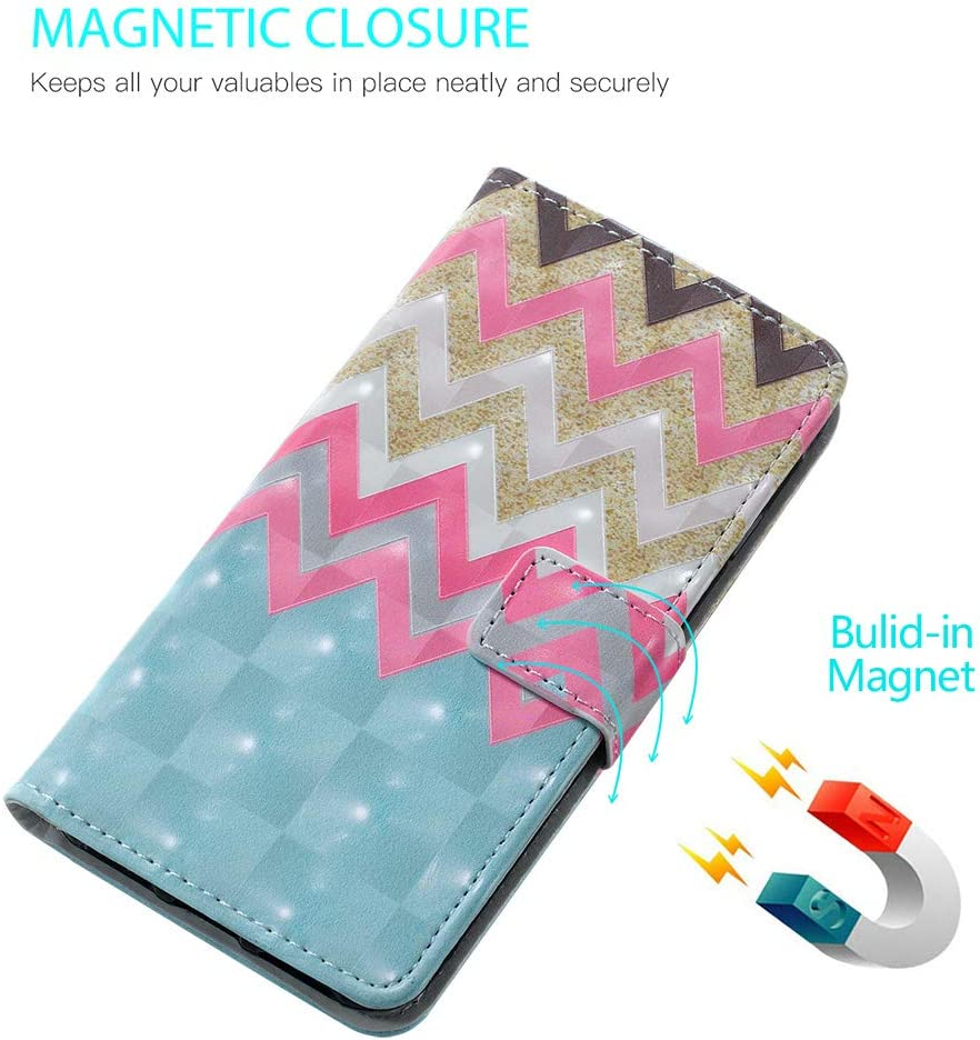 Retro Mandala Amocase Wallet Leather Case with 2 in 1 Stylus for Samsung Galaxy A70,Premium Slim Cute 3D Painting Shockproof Magnetic PU Leather Card Slot Stand Case
