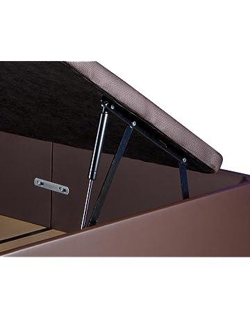 KAMA HAUS | Pack de 2 Sistemas de Elevación Completos con Amortiguadores para Canapé Abatible