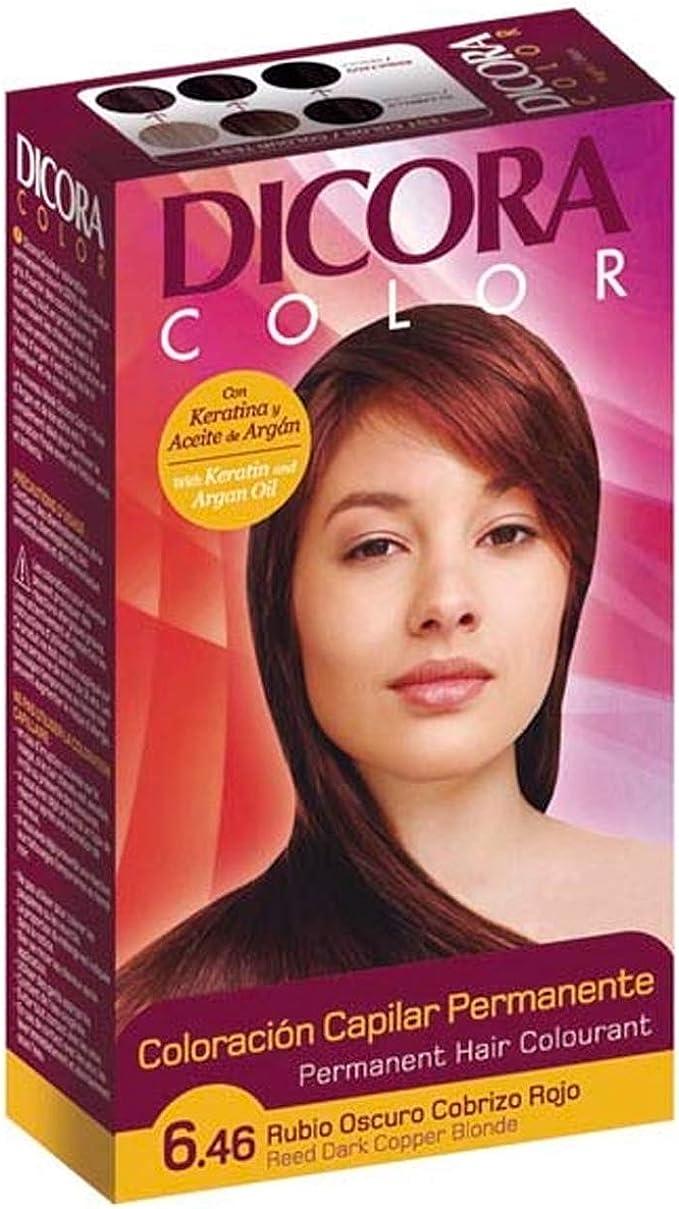Dicora, Coloración permanente (Rubio Oscuro Cobrizo Rojo) - 6 ...