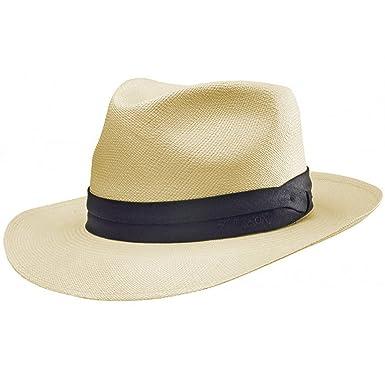5661651583be7 Stetson Jenkins Montecristi Panama Hat at Amazon Men s Clothing store