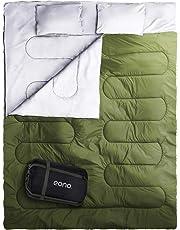 Saco de Dormir Plegable, Saco de Acampada Ultraligero Portátil Multifunción, Saco para