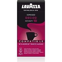 Lavazza Nespresso Compatible Deciso Capsules, 50 g (10 capsules)