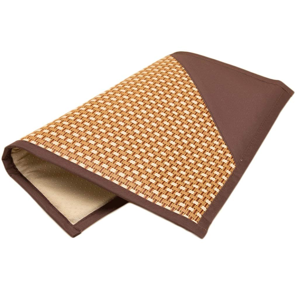Coffee S (4137cm) Coffee S (4137cm) Pet Nest for Large Medium and Small Dogs Cool Mats Summer Pet Supplies Mattresses Cat Sleeping Mats (color   Coffee, Size   S (41  37cm))