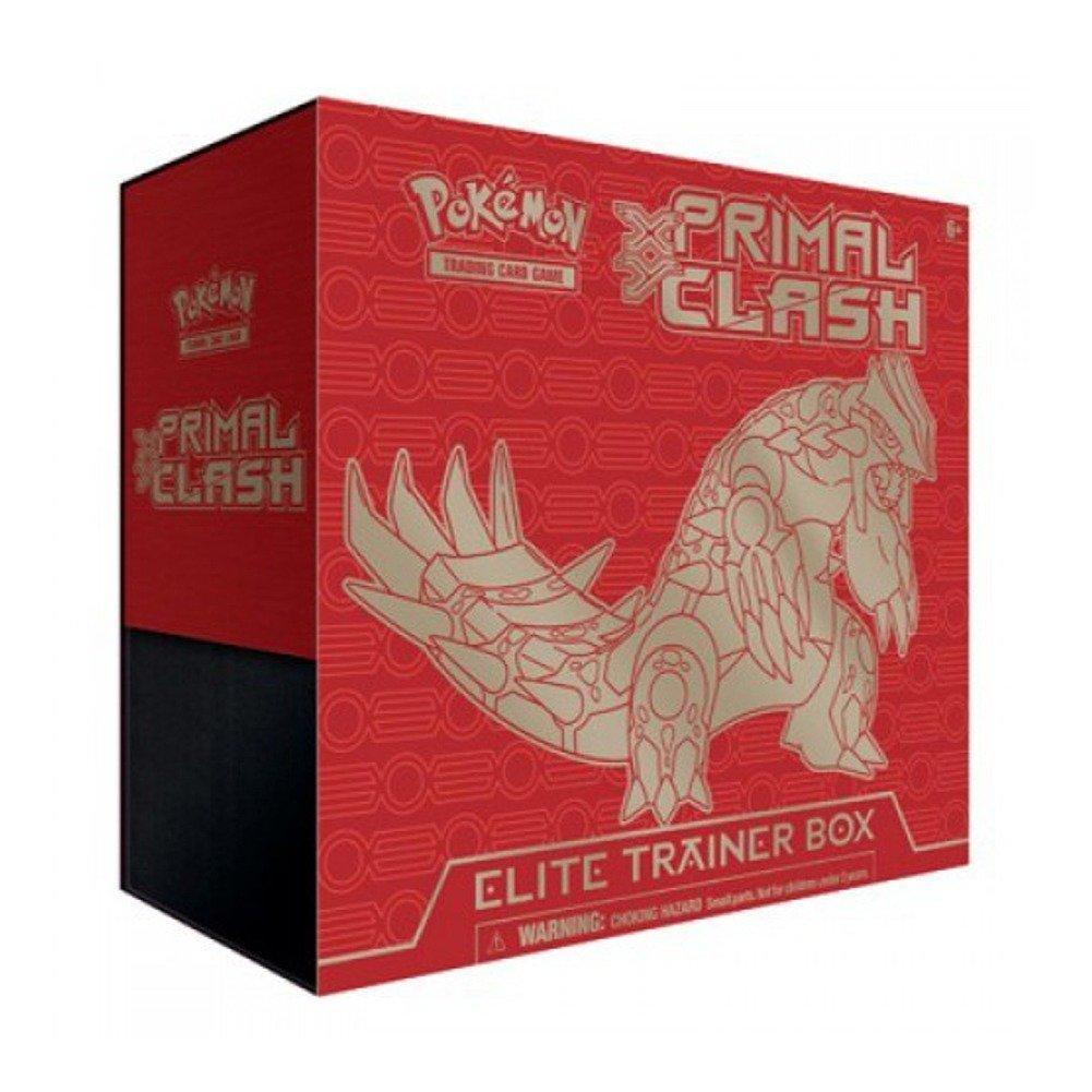 Pokémon Trading Card Game: XY — Primal Clash Sealed Groudon Elite Trainer Box