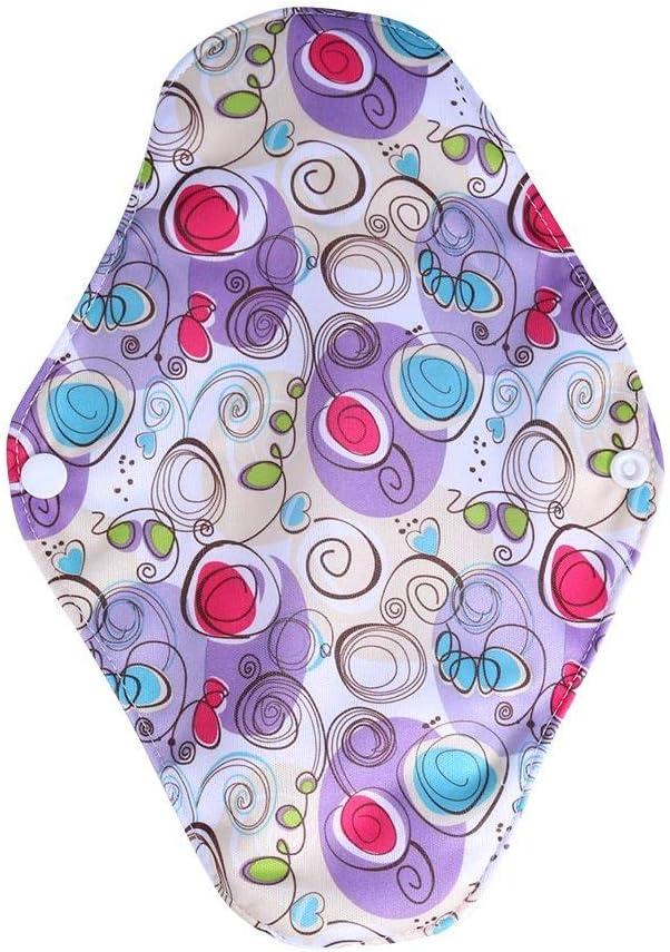 X1 10 tipi di donne riutilizzabili lavabili salvaslip in lino Mama mestruali assorbenti igienici