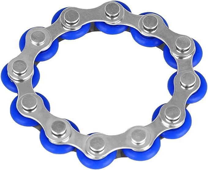 Flippy Chain Fidget Toy Ansiedad y Autismo,Add Adultos y Ni/ños Opopark 6 Piezas Juguete de Aescompresi/ón Juguete Alivia el estr/és Reductor para ADHD
