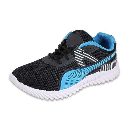 Buy Fabbmate Blue \u0026 Black Running Shoes