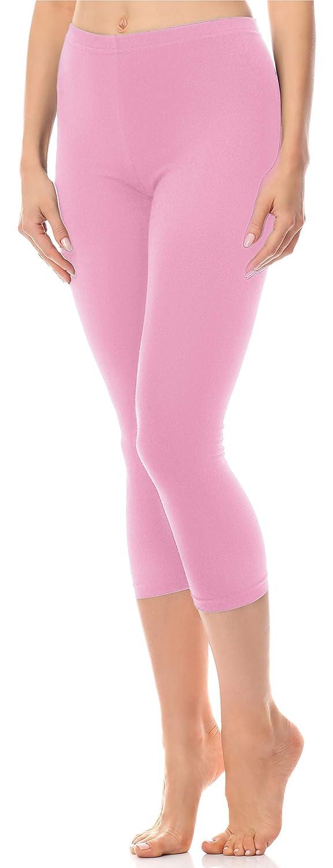 Anti/é Damen Leggings 3//4 aus Baumwolle AN60-101