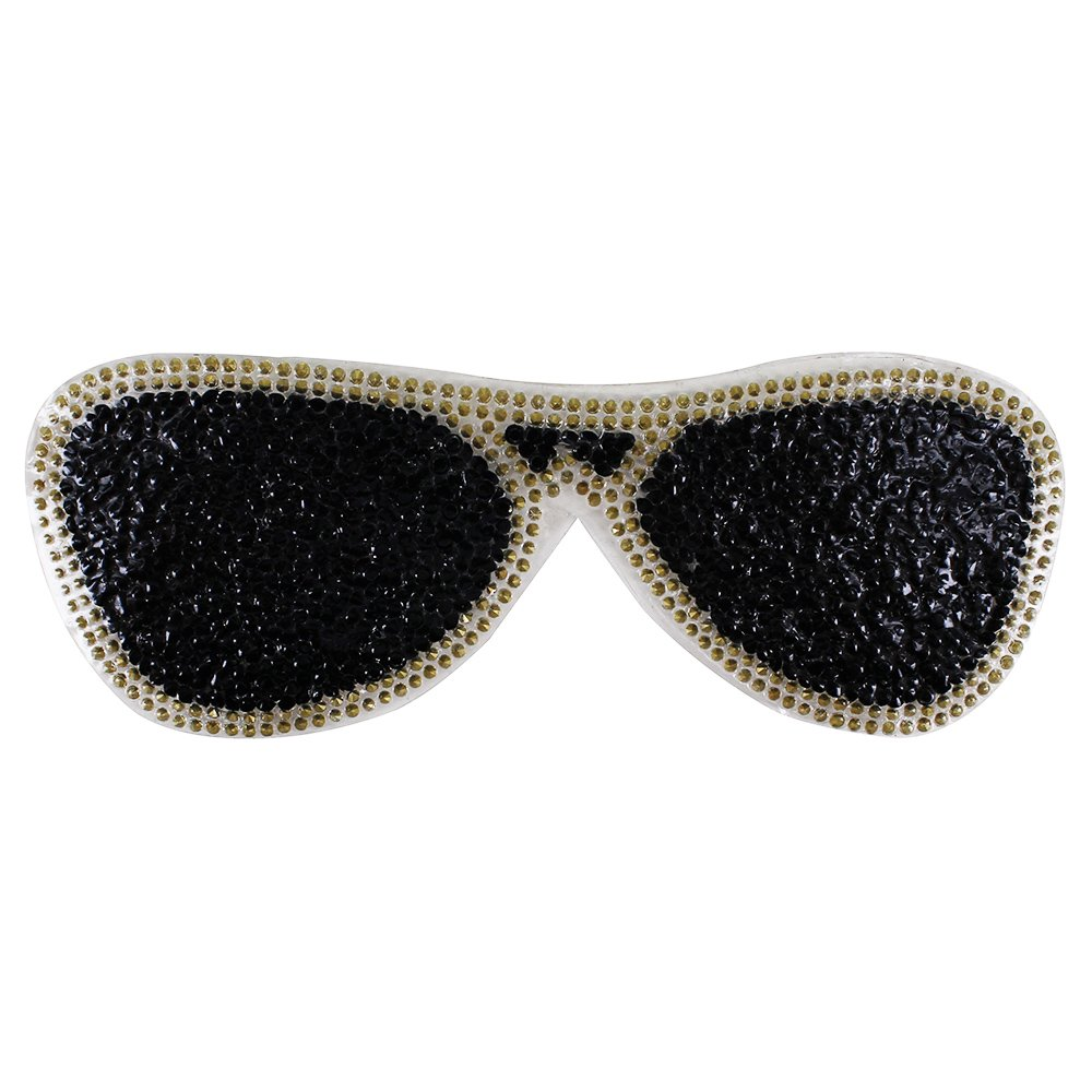 1set DIY Hands Crystal Sewing Applique Rhinestones Sunglasses Patches Iron on Bags Jeans Decorated Apparel Accessories TH896 mix