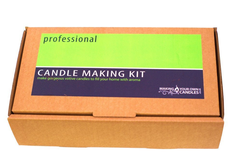 Candle Making Kit: Professional Vanilla - SALE 25% OFF! MakingYourOwnCandles Ltd