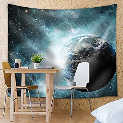 View of Earth and The Galaxies, That's 100% USA Made, Unbelievable Creative Design