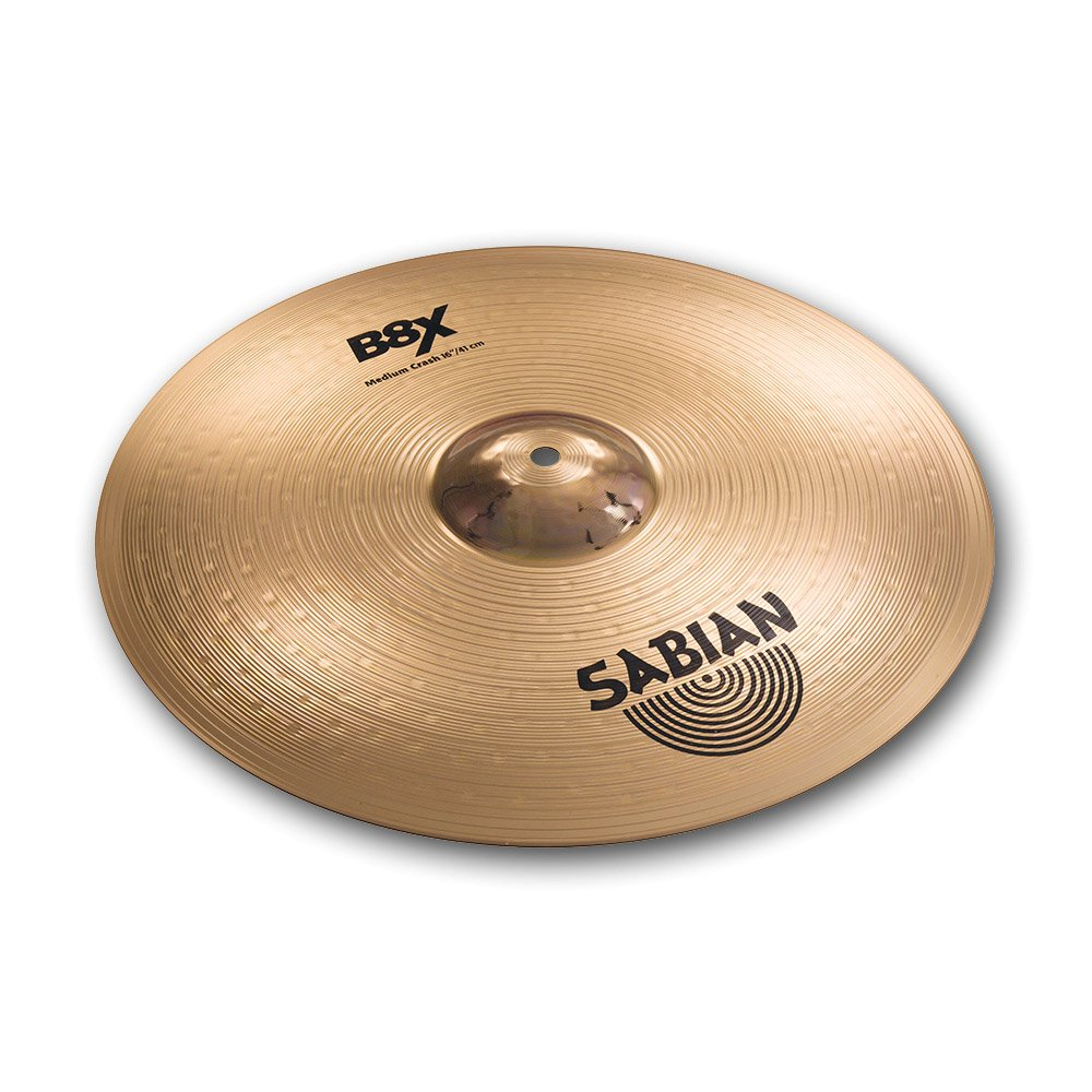 Sabian 41608X 16-Inch B8X Medium Crash Cymbal