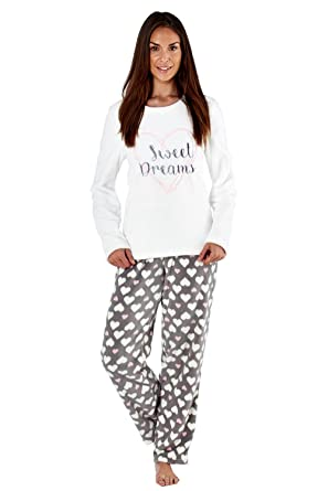 eb4ddf520b Ladies Full Fleece Winter Pyjama Set ~ Unicorn